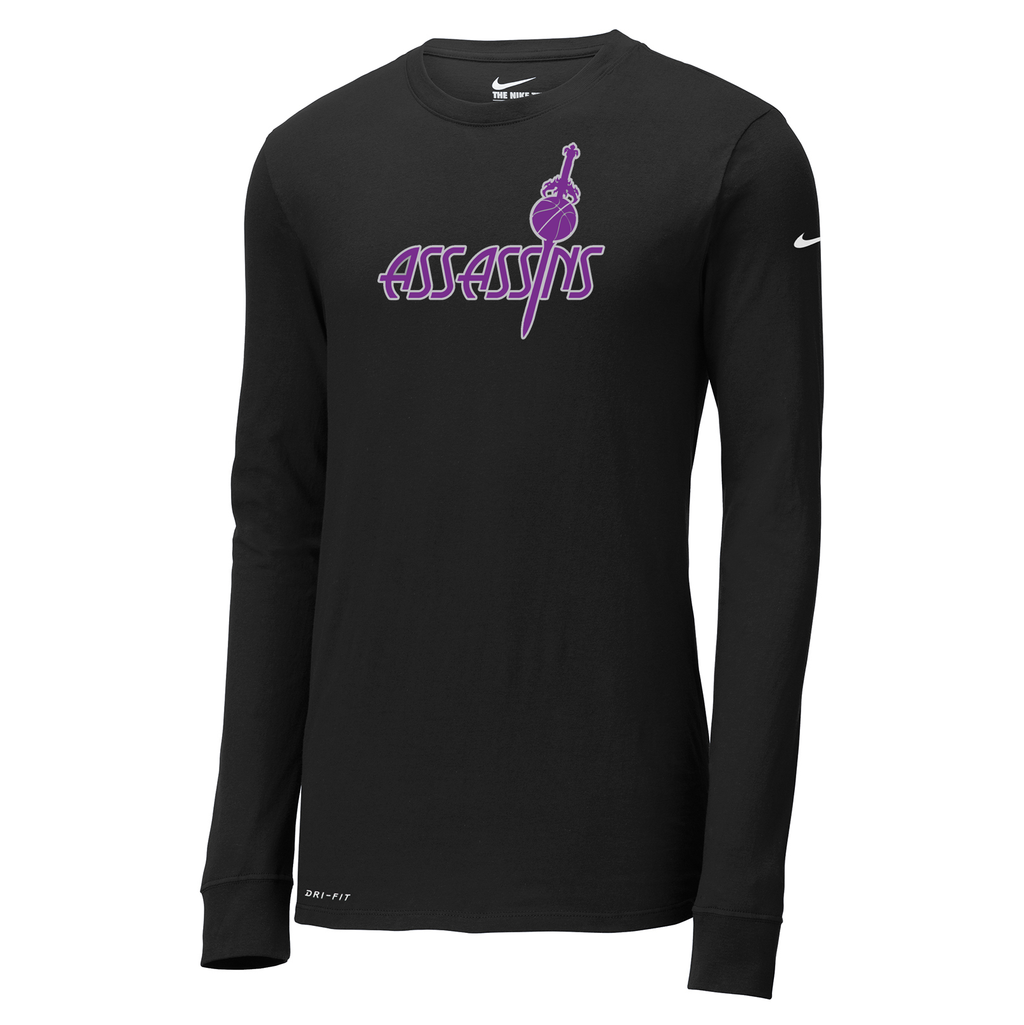 Assassins Basketball Nike Dri-FIT Long Sleeve Tee