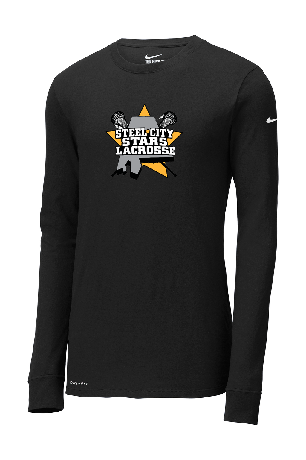 Stars Lacrosse Nike Dri-FIT Long Sleeve Tee