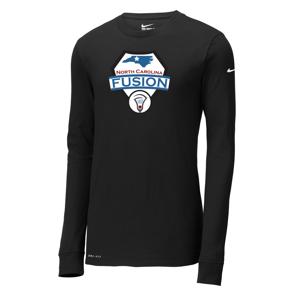 Fusion Lacrosse Nike Dri-FIT Long Sleeve Tee
