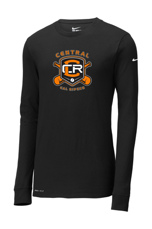 Central Cal Ripken Nike Dri-FIT Long Sleeve Tee