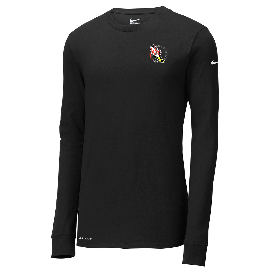 Baltimore City T&F  Nike Dri-FIT Long Sleeve Tee
