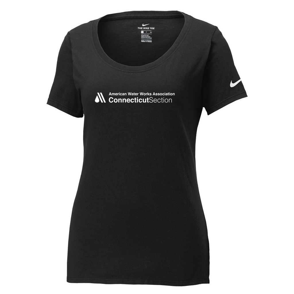 AWWA Connecticut Section Nike Ladies Core Cotton Tee