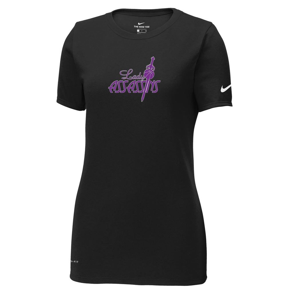 Lady Assassins Basketball Nike Ladies Dri-FIT Tee