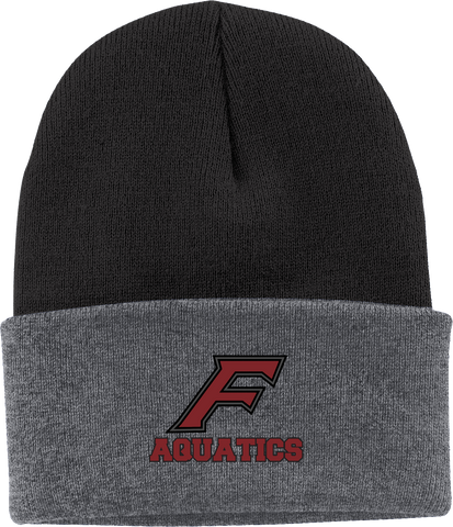 Farmington Aquatics Knit Beanie