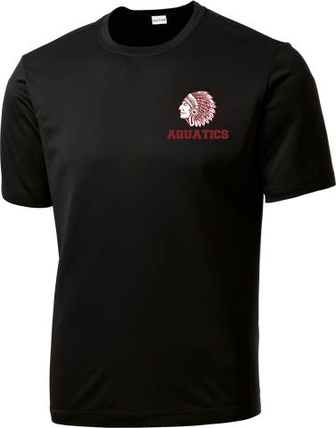 Farmington Aquatics Black Performance T-Shirt