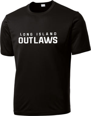 Outlaws Black Performance T-Shirt