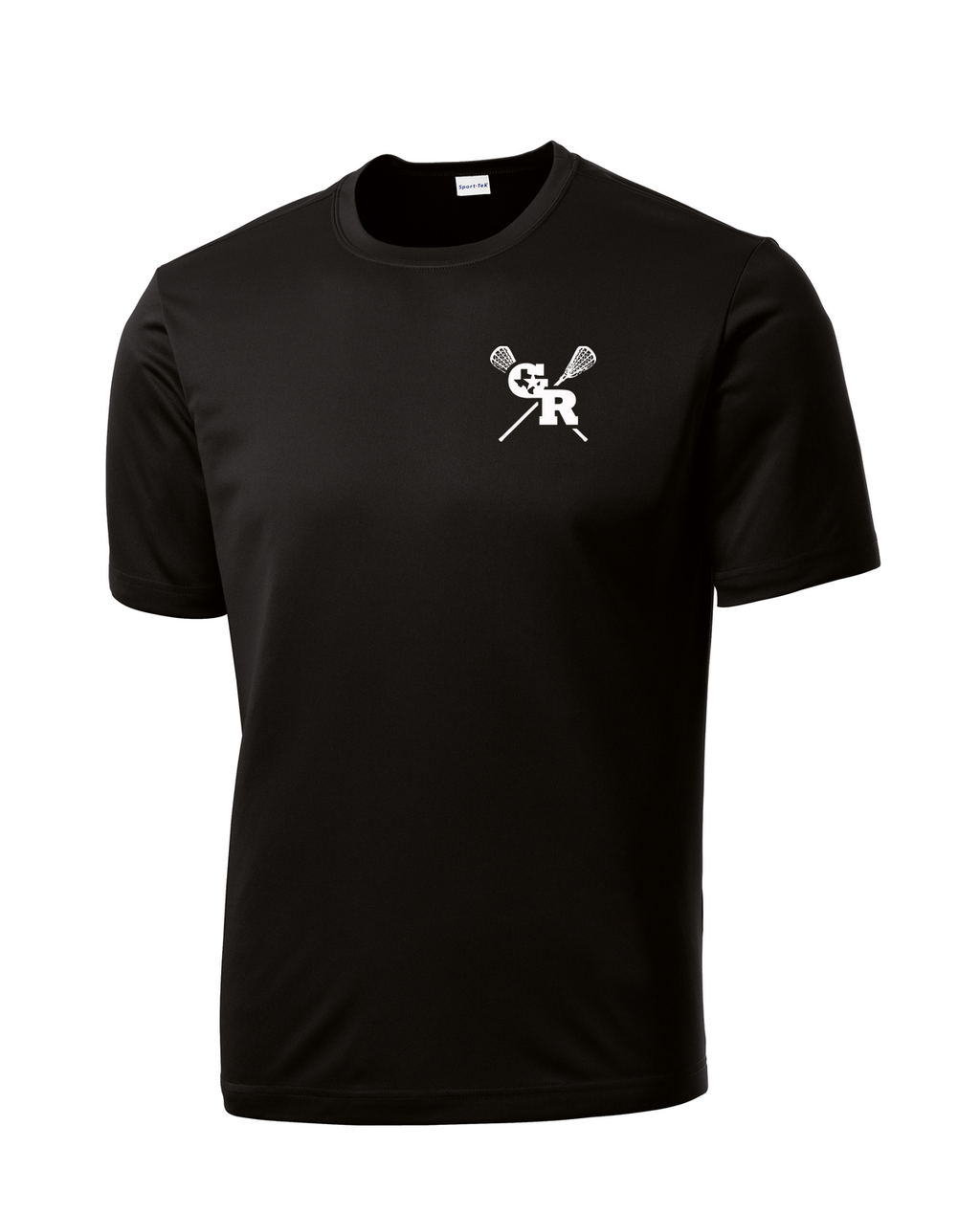 GR Longhorns Lacrosse Performance T-Shirt