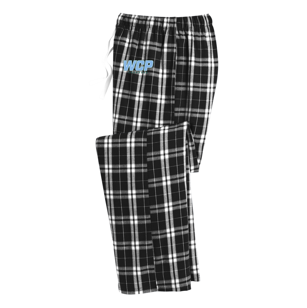 WCP Girls Lacrosse  Plaid Pajama Pants