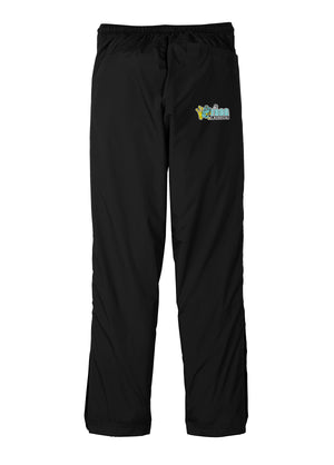 Frog Girls Lacrosse Black Rain/Wind Pants
