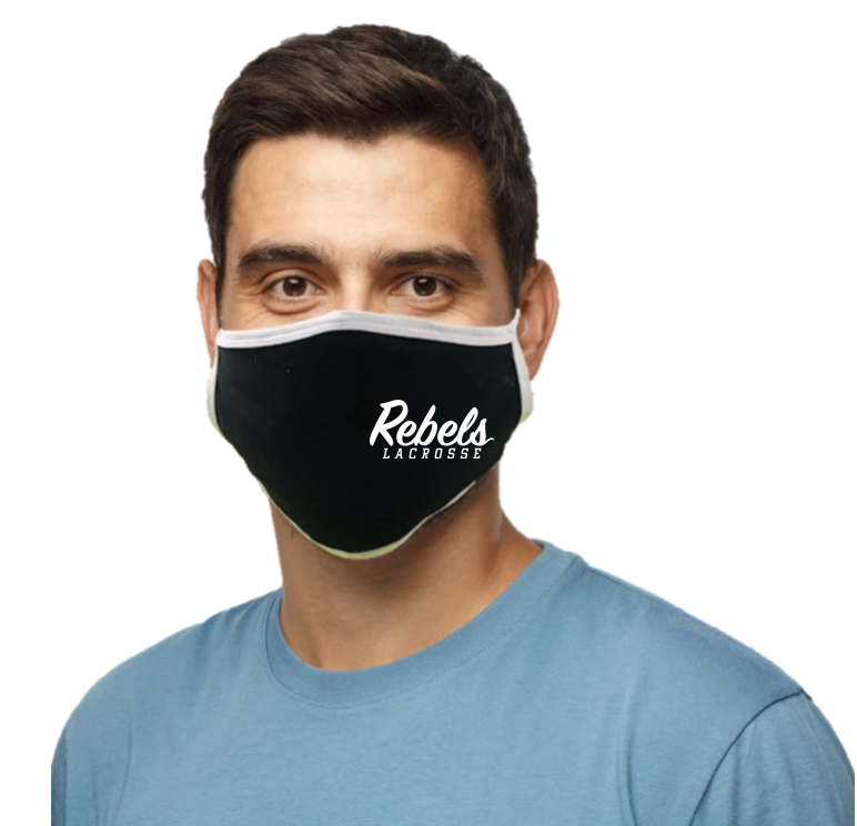 Rebels Lacrosse Face Mask