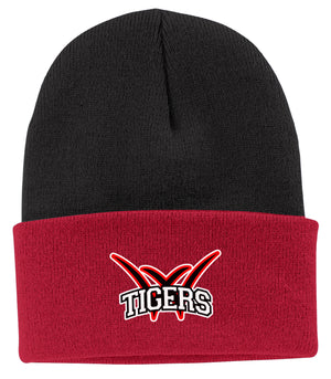 Willard Tigers Baseball Knit Beanie