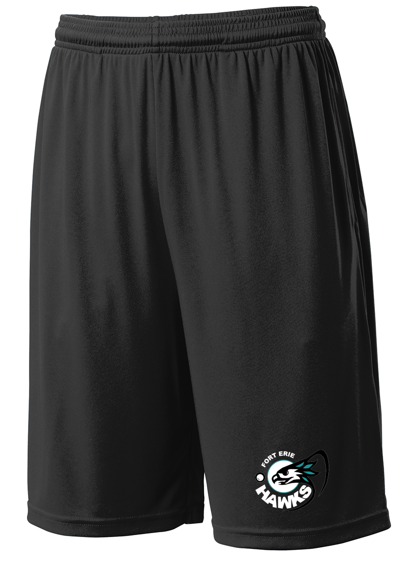 Fort Erie Hawks Black Shorts