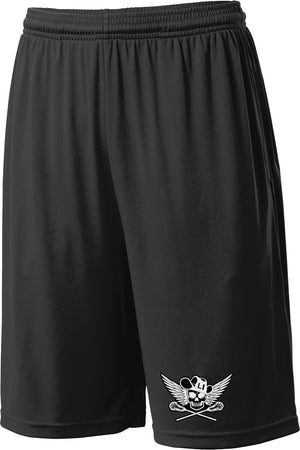 Outlaws Black Shorts