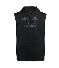 Hustle Academy Basketball Sleeveless Hoodie