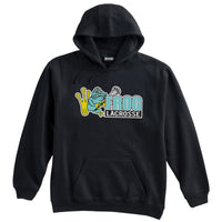 Frog Girls Lacrosse Black Sweatshirt
