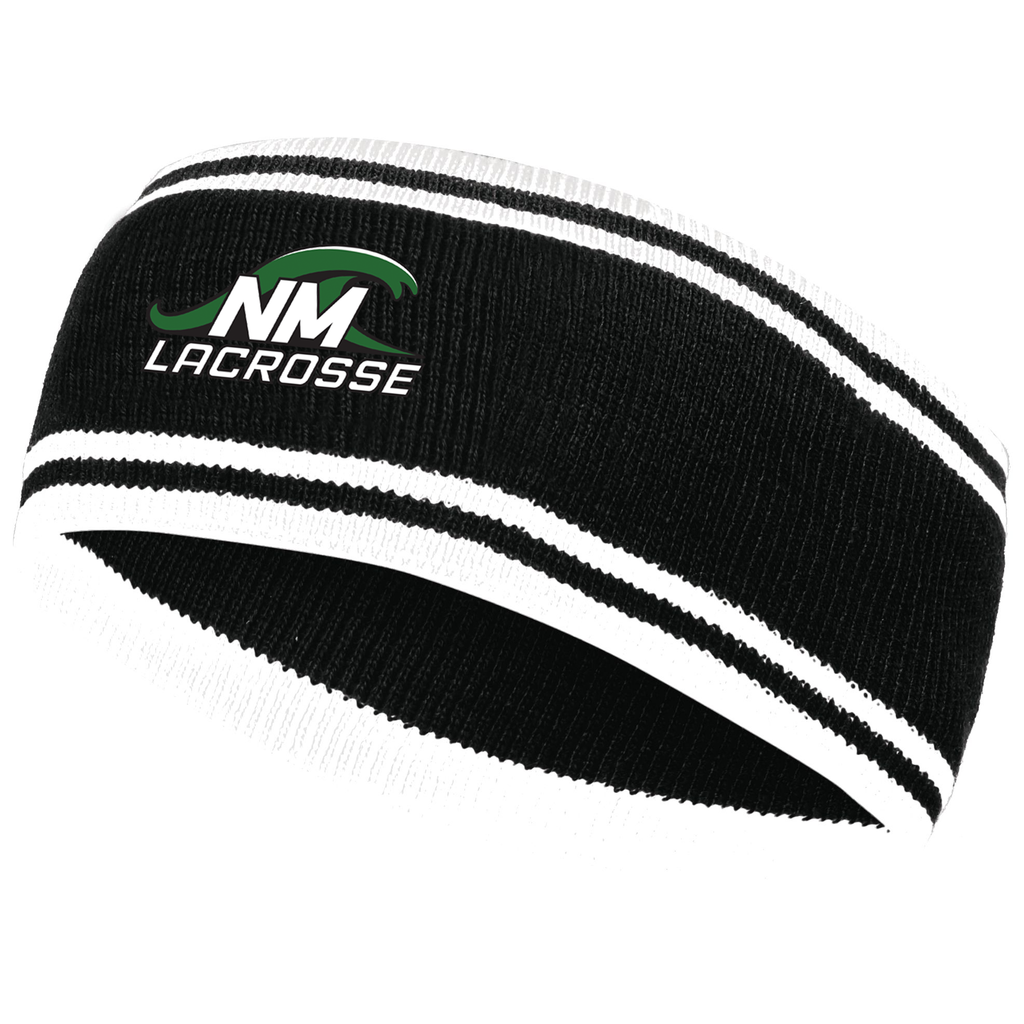 New Milford Youth Lacrosse Homecoming Knit Headband