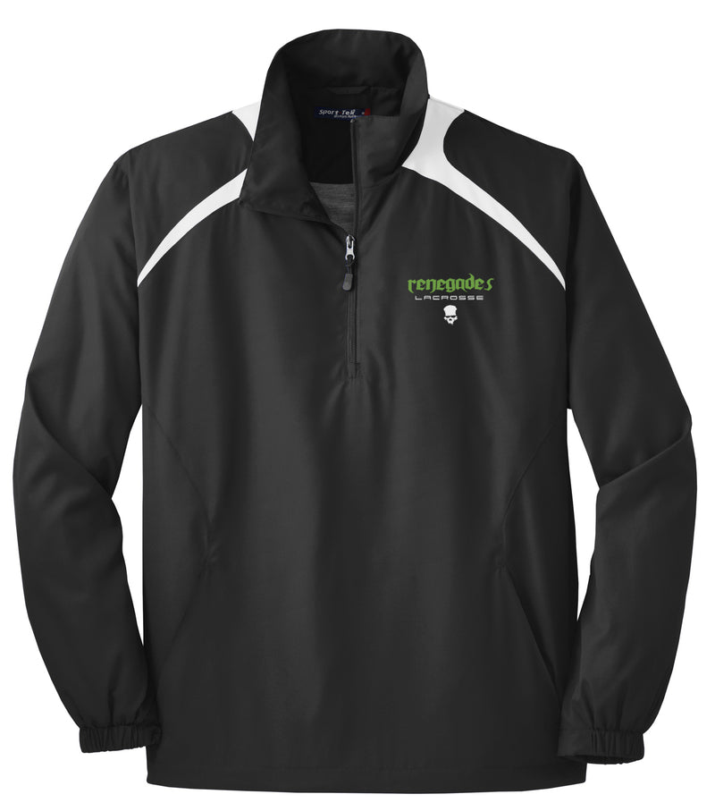 Renegades Lacrosse Black/White Quarterzip