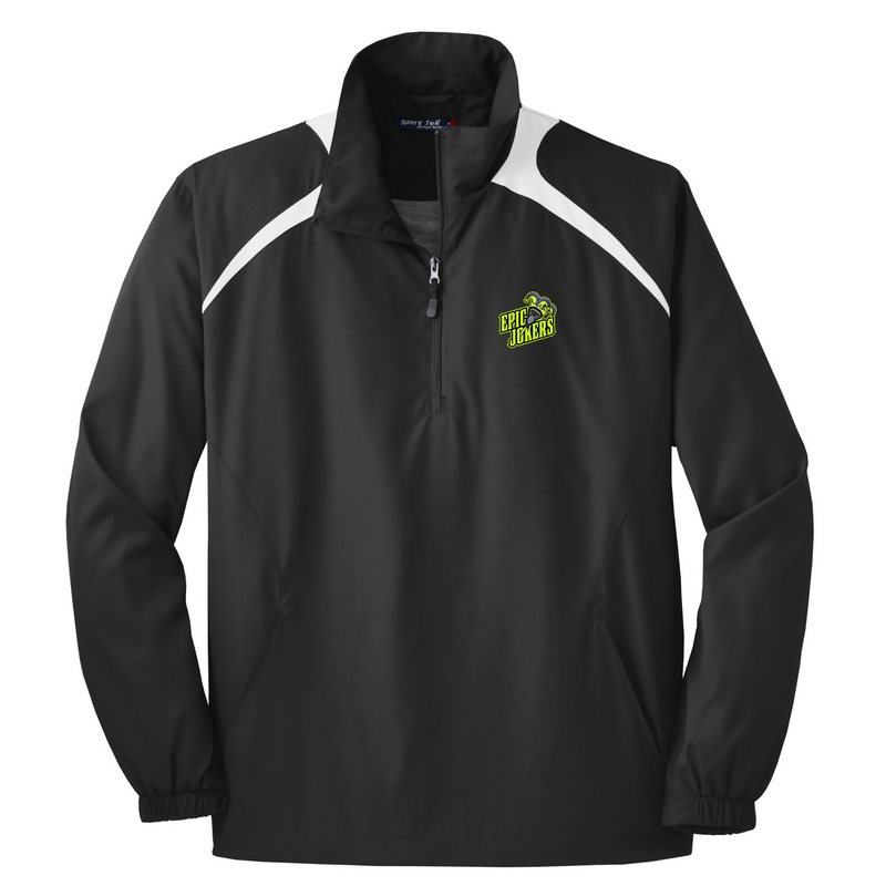 Epic Lacrosse Jokers Black/White Quarterzip