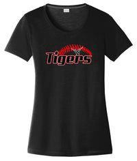Willard Tigers Baseball Women's CottonTouch Performance T-Shirt