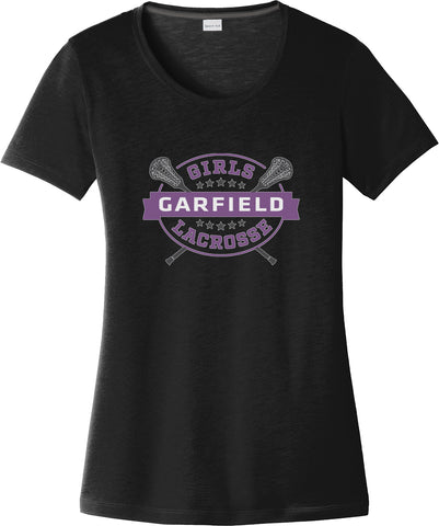 Garfield Women's Black CottonTouch Performance T-Shirt