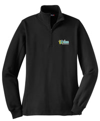 Frog Girls Lacrosse Women's Black 1/4 Zip Fleece
