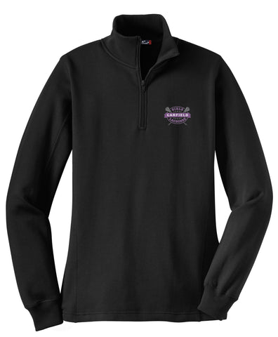 Garfield Women's Black 1/4 Zip Fleece