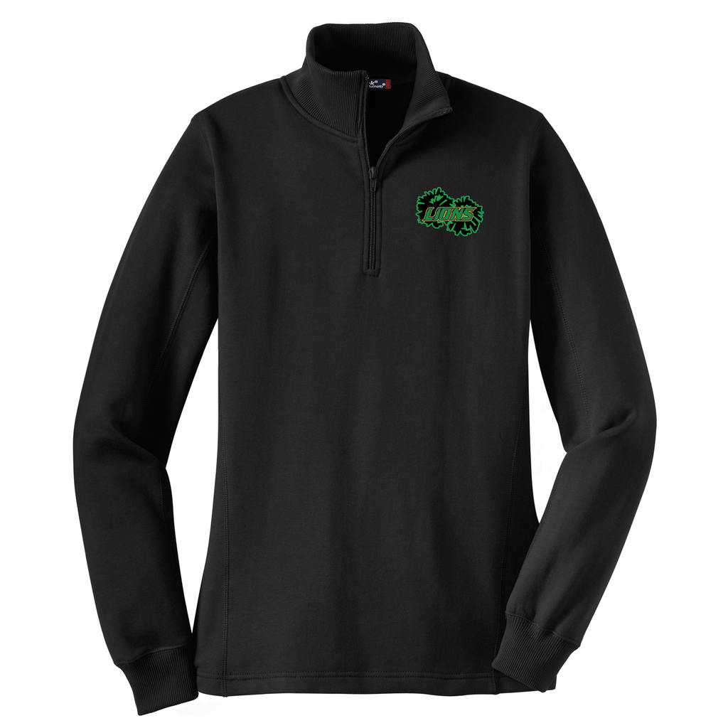 Lanierland Lions Cheer  Women's 1/4 Zip Fleece