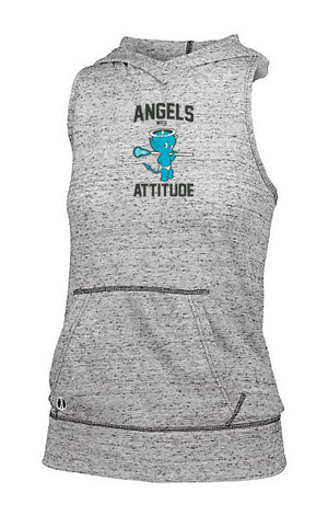 Angels With Attitude Women's Hooded Tank
