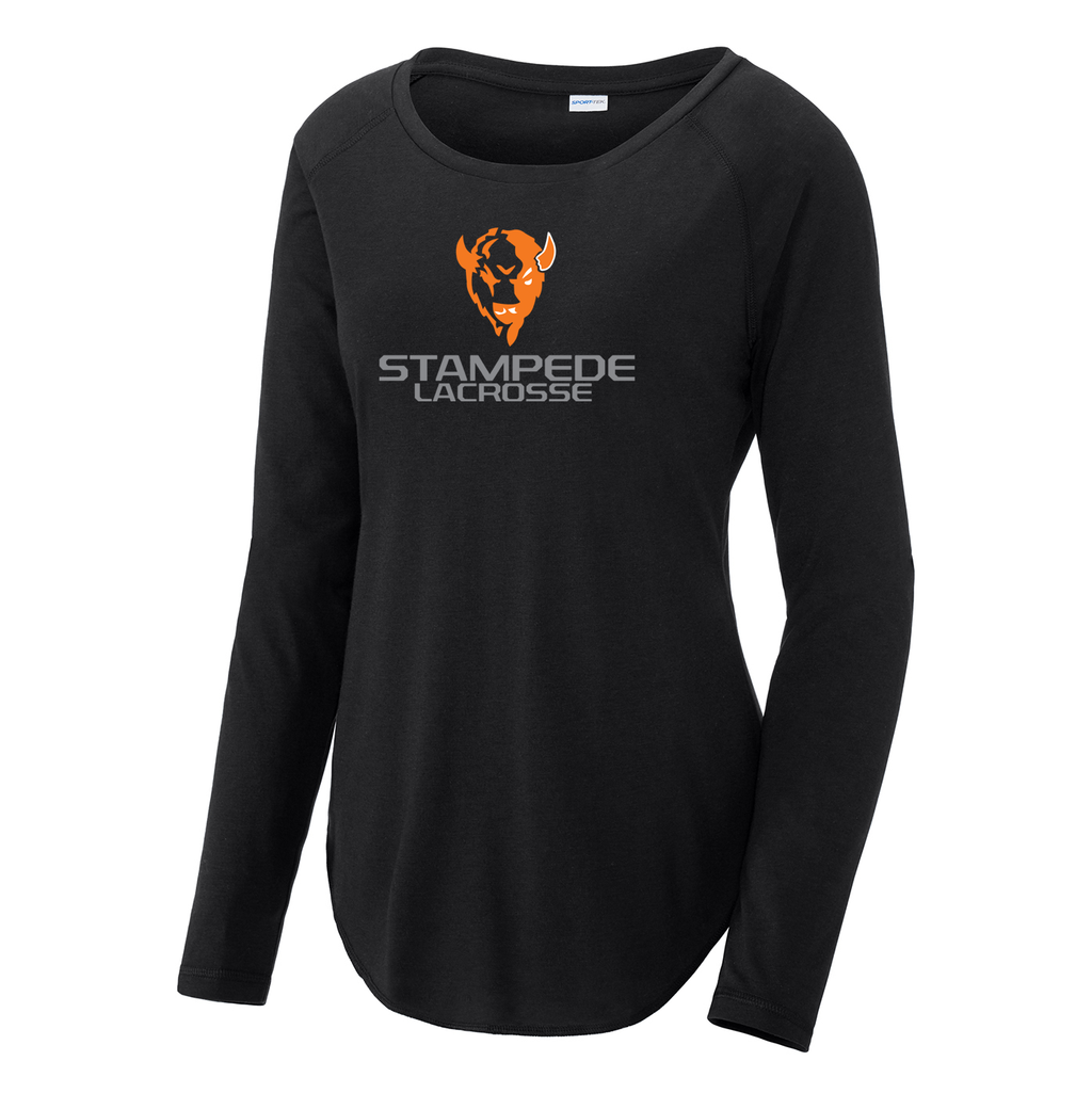 South Suburban Stampede Women's Raglan Long Sleeve CottonTouch