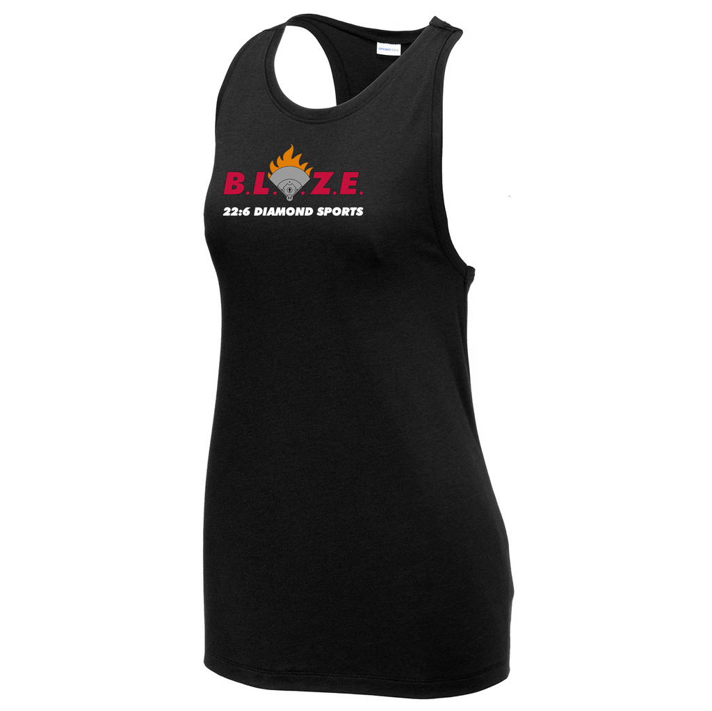 BLAZE 22:6 Diamond Sports Women's Racerback Tank