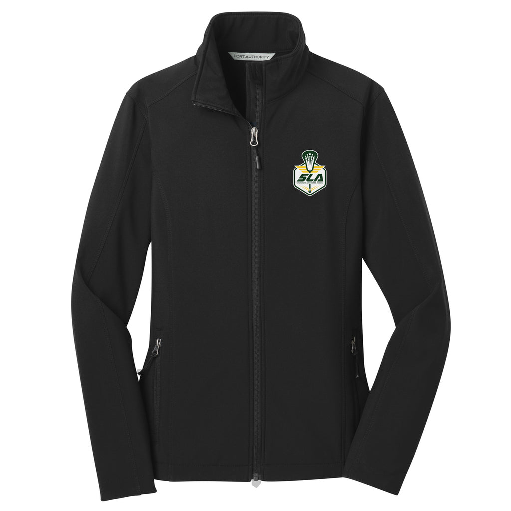 Sycamore Lacrosse Association Women's Black Soft Shell Jacket