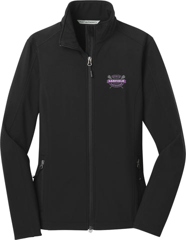 Garfield Women's Black Soft Shell Jacket