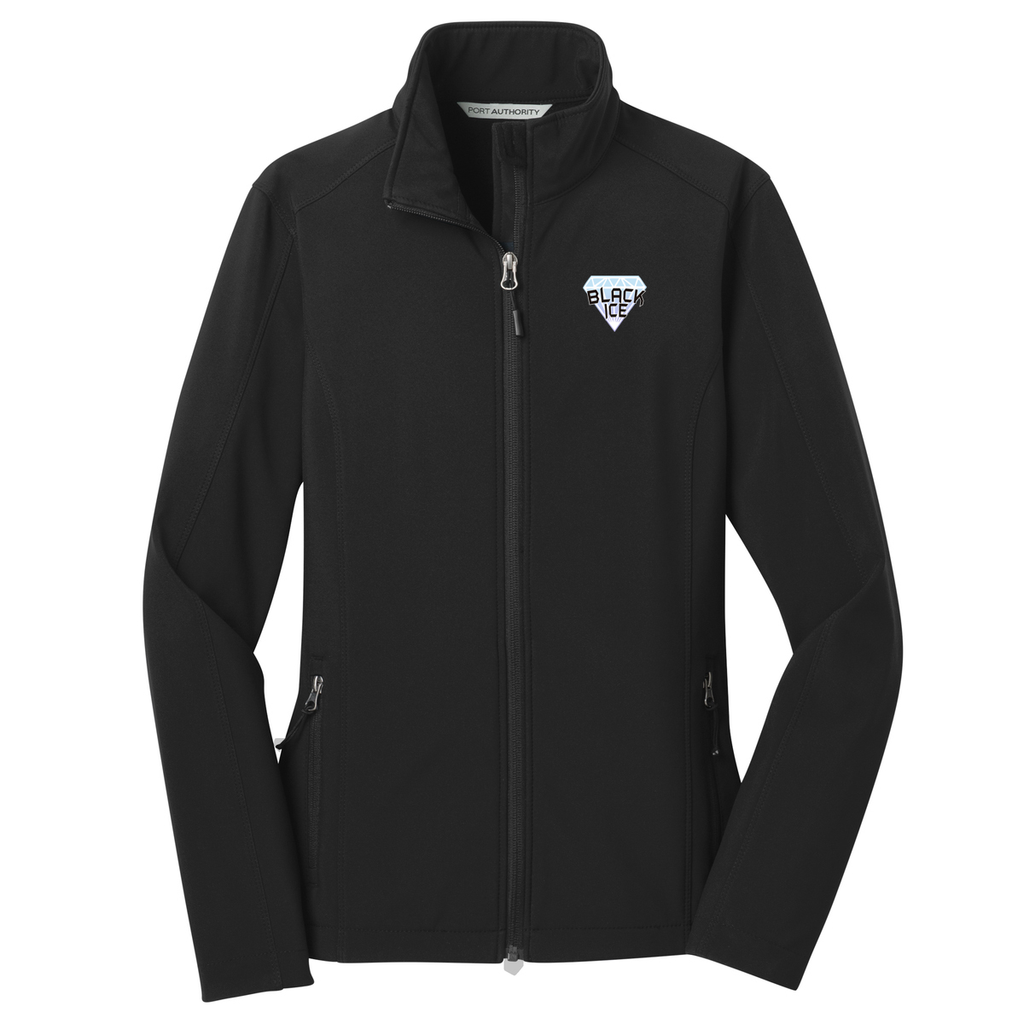 Black Ice Softball Women's Soft Shell Jacket