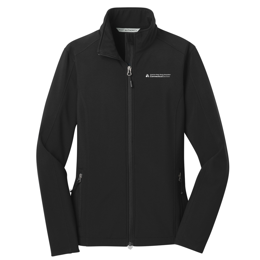 AWWA Connecticut Section Women's Soft Shell Jacket