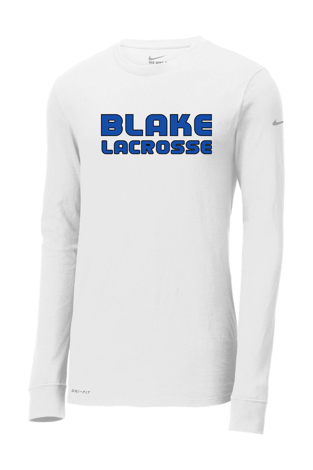 Blake Lacrosse Nike Dri-FIT Long Sleeve Performance Shirt