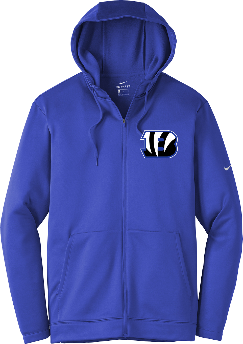 Blake Lacrosse Nike Royal Blue Full-Zip Hoodie