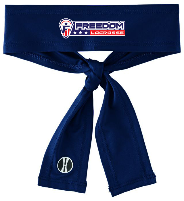 Freedom Lacrosse Zoom Tie Headband