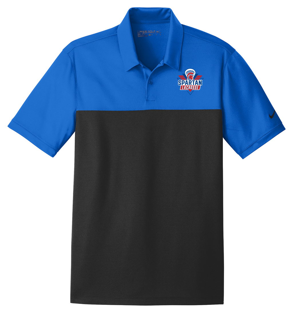 Bixby Youth Lacrosse Nike Dri-FIT Colorblock Polo