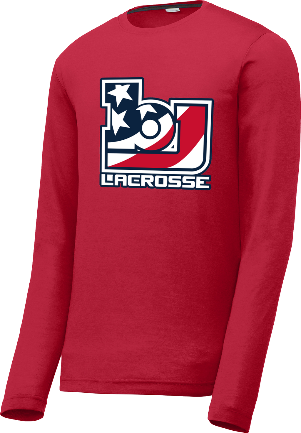 Bob Jones Lacrosse Long Sleeve CottonTouch Performance Shirt