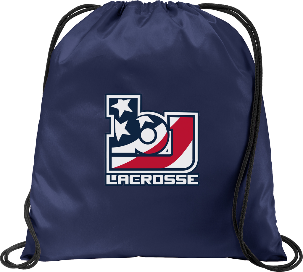 Bob Jones Lacrosse Navy Cinch Pack