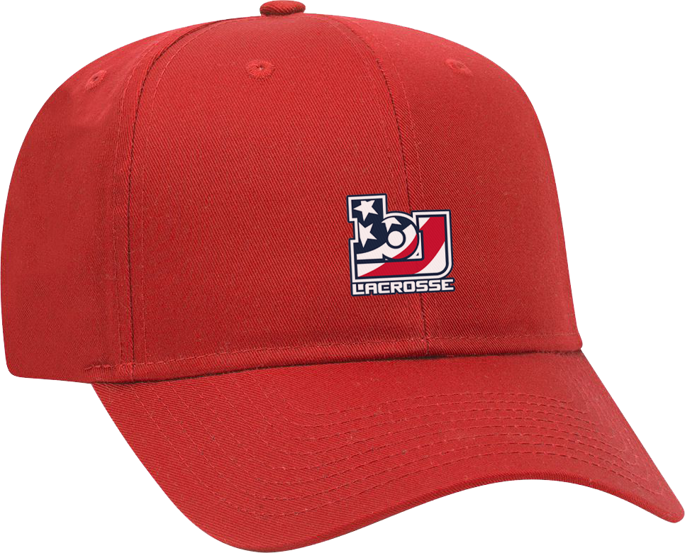 Bob Jones Lacrosse Red Cap