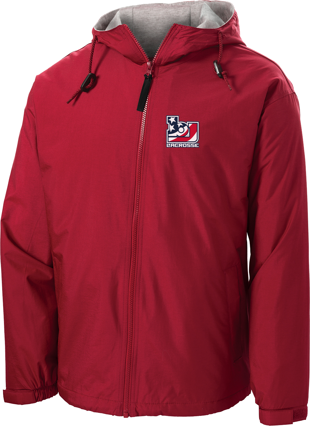 Bob Jones Lacrosse Hooded Jacket