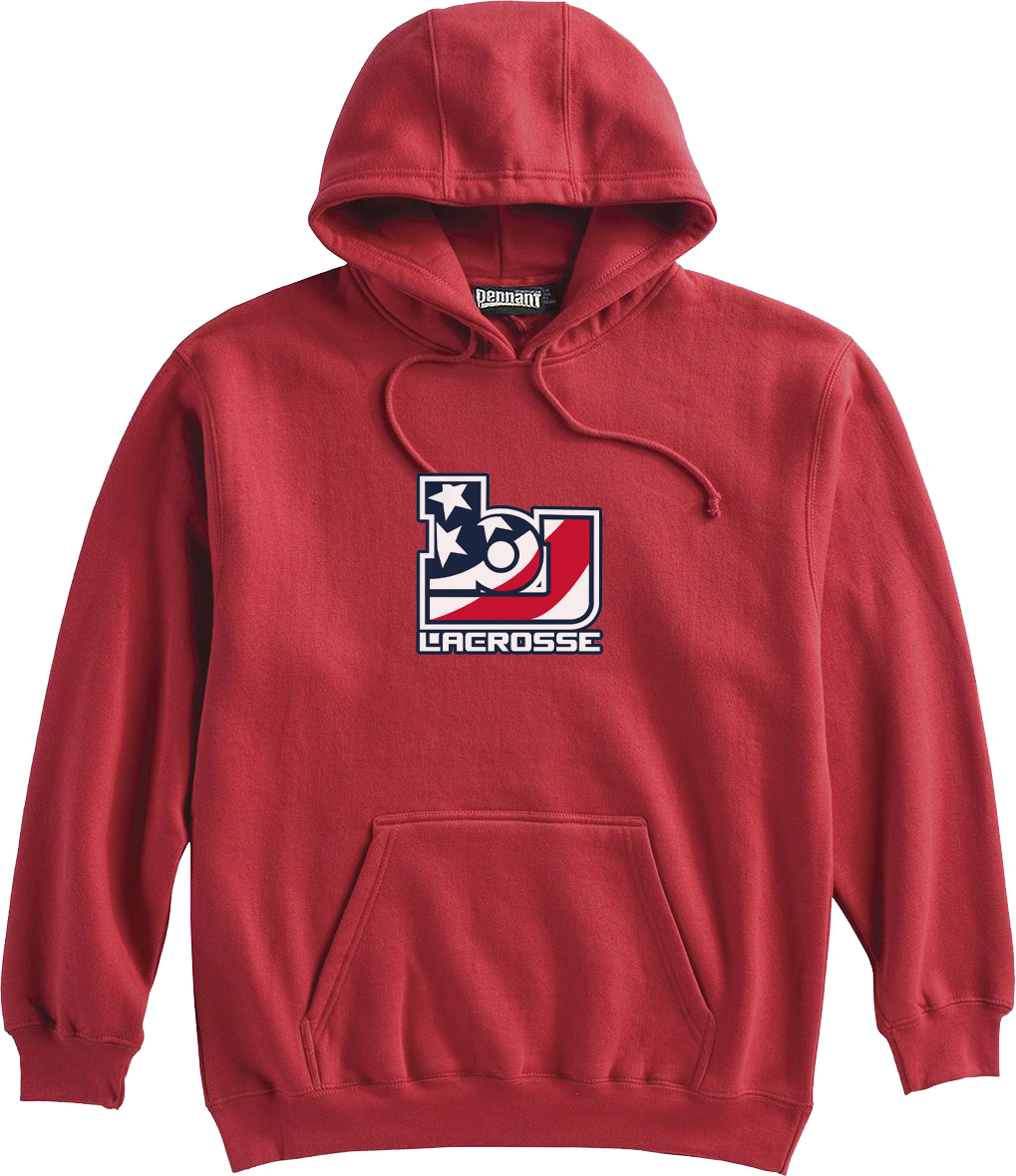 Bob Jones Lacrosse Red Sweatshirt
