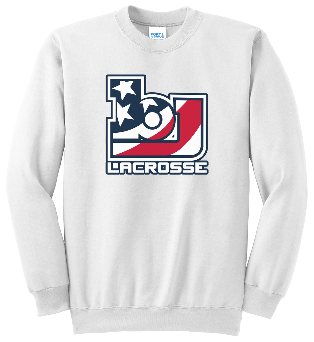 Bob Jones Lacrosse Crew Neck Sweatshirt