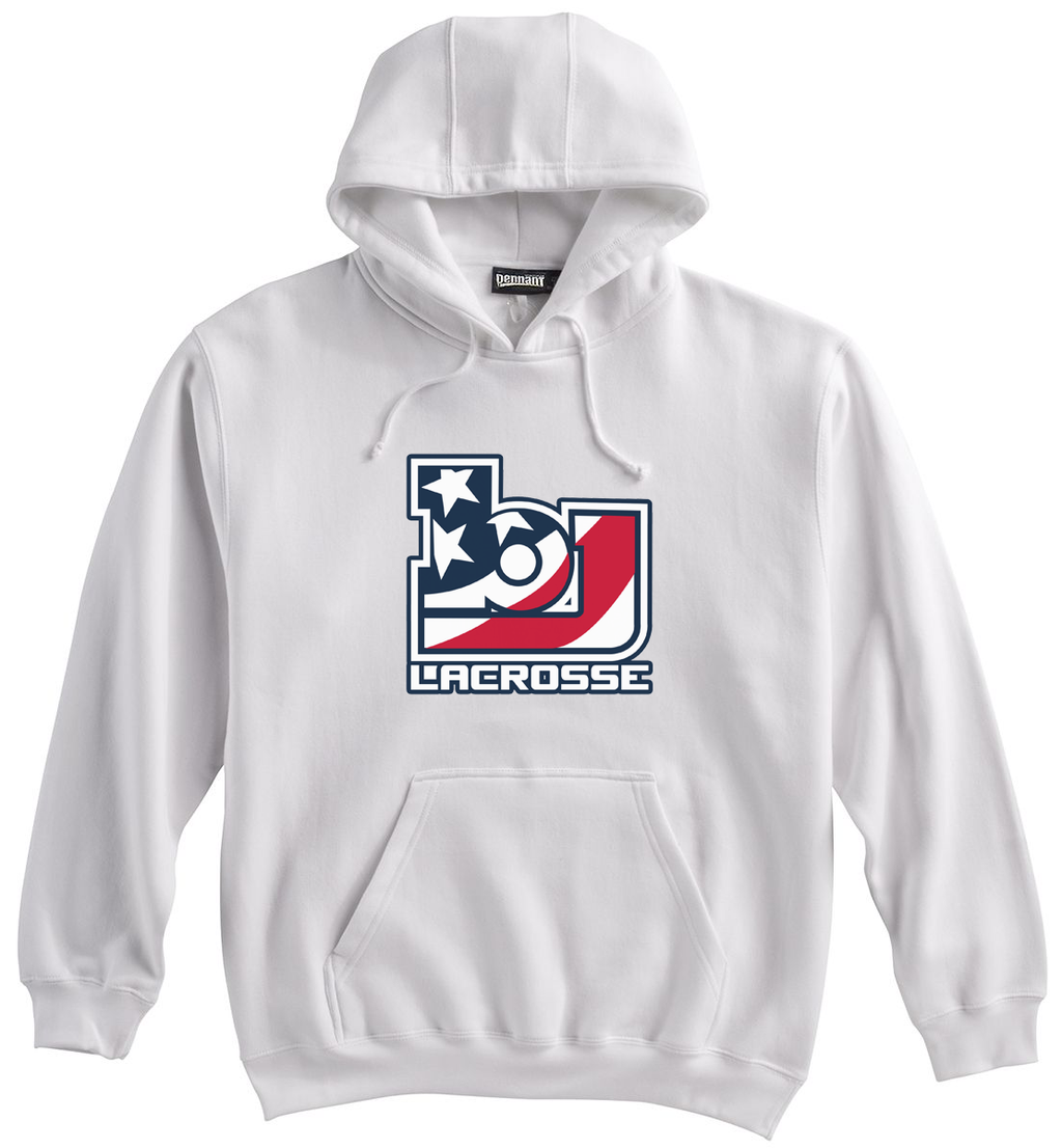 Bob Jones Lacrosse White Sweatshirt