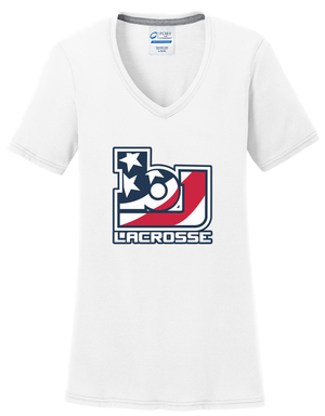 Bob Jones Lacrosse Women's White T-Shirt