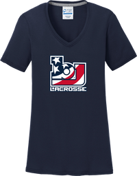 Bob Jones Lacrosse Women's Navy T-Shirt