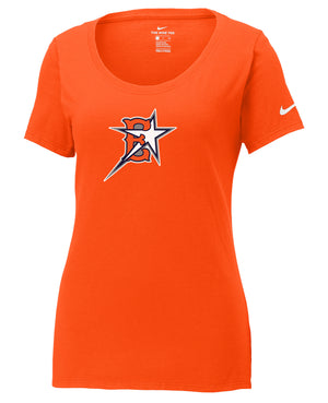 Eastvale Girl's Softball Nike Ladies Core Cotton Tee