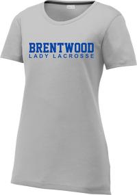 Brentwood Women's Silver CottonTouch Performance T-Shirt