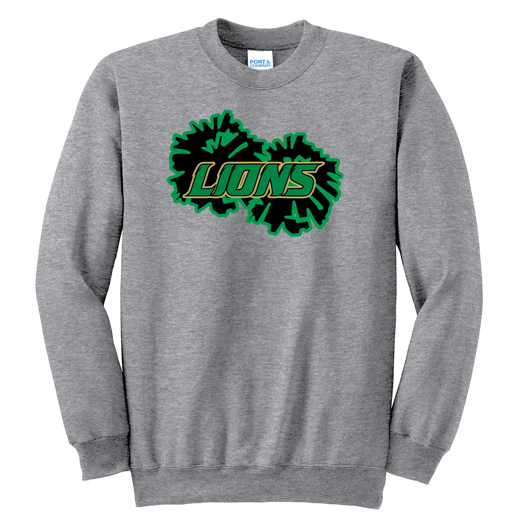 Lanierland Lions Cheer Crew Neck Sweater